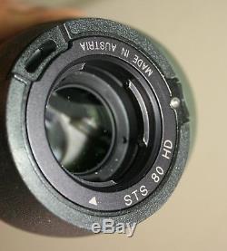 Swarovski Optik STS 80 HD with 20-60 X eyepiece