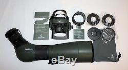 Swarovski Optiks ATS 80 HD Spotting Scope 20-60x S Angle Lens- Adapter, DCA Zoom