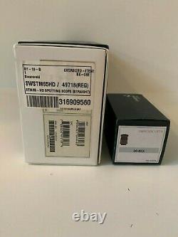 Swarovski STM-65 HD Straight Spotting Scope with 20-60x eyepiece, New in box