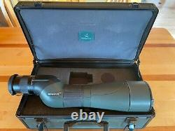Swarovski STS 20x60x80 Spotting Scope Excellent Condition Clean Glass with Case