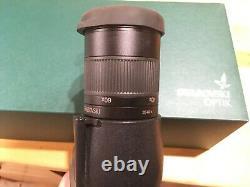 Swarovski STS HD 20x60x65 Spotting scope and eyepiece 2020 CLEAN GLASS
