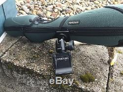 Swarovski STX95 spotting scope with all boxes and paperwork