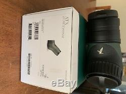 Swarovski atx spotting scope, 95mm objective, angled ATX eyepiece, tls app 30mm