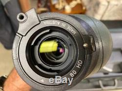 Swarovski spotting scope sts 80 with 20x60 power eye piece