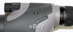 Used Vortex Optics RZR-S1 Razor HD 20-60x85mm Straight Spotting Scope 60x Mag