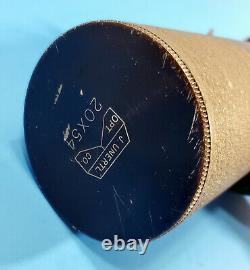 VINTAGE UNERTL 20X54 SPOTTING SCOPE with 20x & 26x Eyepieces No. V-230 NO STAND