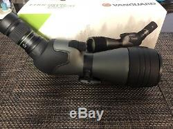 Vanguard Endeavor HD 82A 20-60x 82mm Angled Spotting Scope, BAK4 Roof Prism
