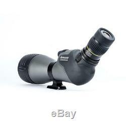 Vanguard Endeavor HD 82A Angled Eyepiece Spotting Scope, 20-60 x 82, ED Glass