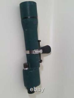 Vintage BAUSCH & LOMB 30x60 Spotting Scope works great. Clean Made in NY USA