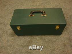 Vintage Bausch & Lomb 20X Hunting Metal SPOTTING SCOPE With Hard Case #3208 LG