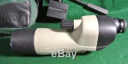 Vintage Nikon 20X Angled Spotting Scope II with Bushnell car window mount