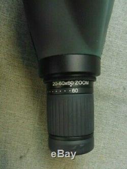 Vortex Diamondback 20-60x60 Spotting Scop In Black Case (108602-1 H)