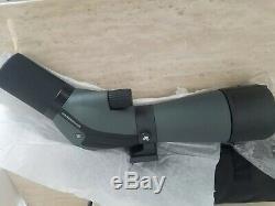 Vortex Diamondback 20-60x60 Straight Spotting Scope, Green DBK-60S1