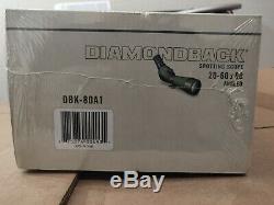 Vortex Diamondback 20-60x80 Angled Spotting Scope DBK-80A1