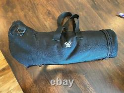 Vortex Diamondback Angled Spotting Scope 20-60x80, with Protective Carrying Case
