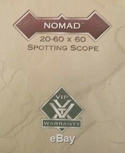 Vortex Nomad 20-60×60 Spotting Scope