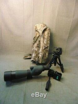Vortex Nomad 20-60x Zoom Spotting Scope With Camo Case