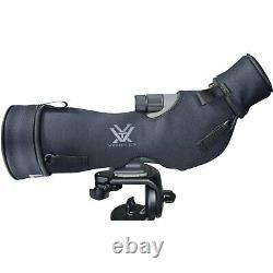 Vortex Optics Razor HD 27-60x85 Spotting Scope Angled with Fitted Case & Hat