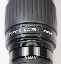 Vortex Optics Razor HD Spotting Scope 11-33x50 Angled, No Reserve