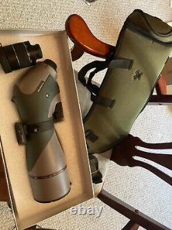 Vortex Optics Razor HD Spotting Scope 20-60x85 Gen 1 New In Box Angled Body