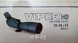 Vortex Optics VIPER HD 20-60 x 80 mm Angled Spotting Scope