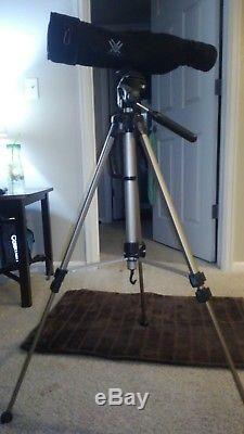 Vortex Optics Viper HD 15-45x65 Straight Spotting Scope w Fitted Case & tripod