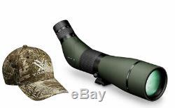 Vortex Optics Viper HD 20-60X85 Angled Spotting Scope with Vortex Hat