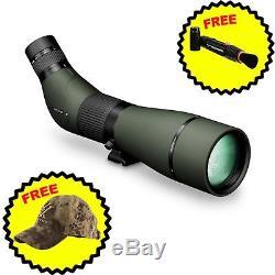 Vortex Optics Viper HD 20-60x85mm V502 Angled Spotting Scope with 2 FREE Items