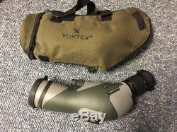 Vortex Razor 11-33 x 50 Spotting Scope Angled with Case Pristine Condition