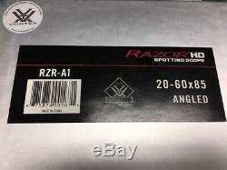 Vortex Razor HD 20-60 x 85 Spotting Scope Angled Body Excellent Condition
