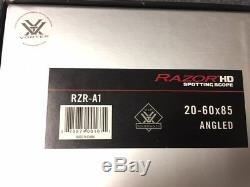 Vortex Razor HD 20-60 x 85 Spotting Scope Angled Brand New In Box