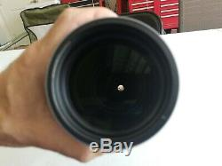 Vortex Razor HD 20-60 x 85 Spotting Scope Angled used with creedmoor case