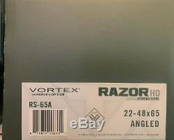 Vortex Razor HD 22-48x65 Angled Spotting Scope- Ultra Clean Glass Brand New