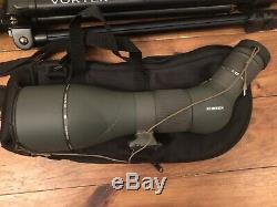 Vortex Razor HD 27-60x85 Angled RS-85A Spotting Scope Pro GT Tripod Ball Head