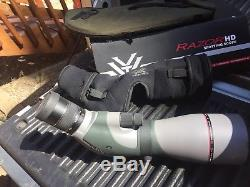 Vortex Razor HD RZR-A1 Angled 20-60x85 Spotting Scope With Neoprene Bikini