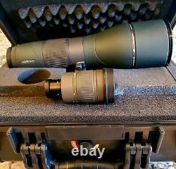 Vortex Razor RS-85S HD 27-60x85 Spotting Scope with custom case