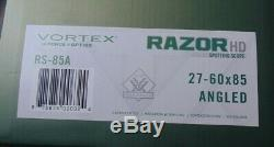 Vortex Rs-85a 27-60x85 Angled Razor Hd Spotting Scope In Original Box