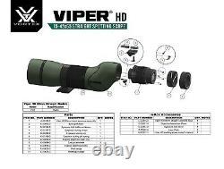 Vortex Viper HD 15-45x65 Spotting Scope Straight V501