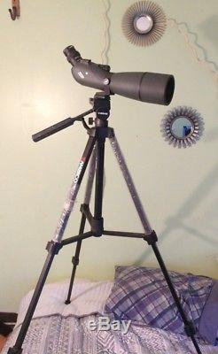 Vortex Viper HD 20-60x80 Angled Spotting Scope With Neoprene Cover and Tripod