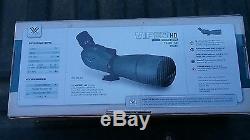 Vortex Viper HD 20-60x80 Angled Spotting Scope with Vanguard tripod. No reserve