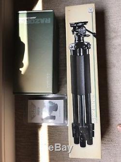Vortex razor hd 27-60x85 spotting scope w case and skyline tripod