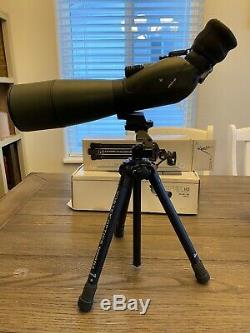 Vortex spotting scope viper hd 20x60x80 angled and a vortex summit ss-p Tripod